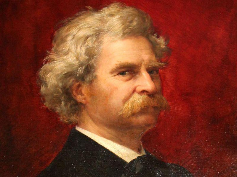 Writer's Block - Mark Twain